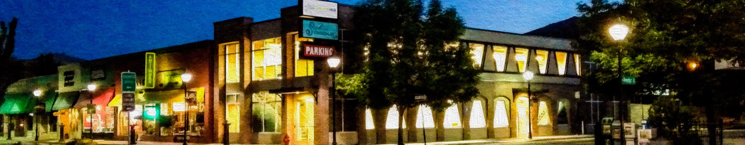 Down town Carson city, NV