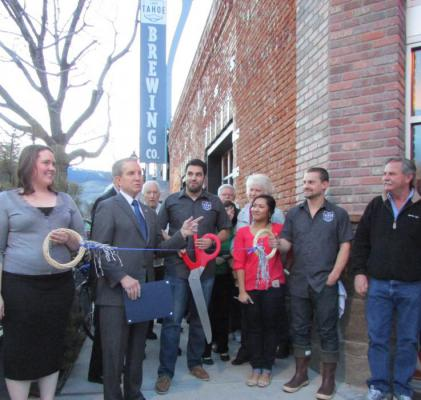 Mayor Crowell, Carson City chamber welcome Lake Tahoe Brewing Company | Carson City Nevada News – Carson Now