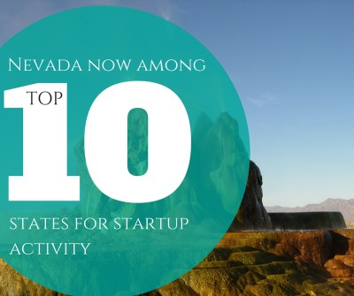 Nevada Is In the Top 10 for Startup Activity!